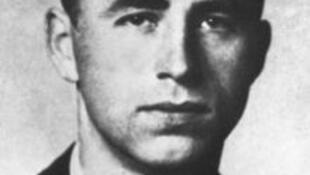 O nazista austríaco Alois Brunner, responsável pela morte de 130 mil judeus.