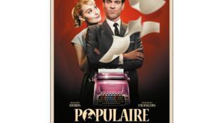 L'affiche du film «Populaire», réalisé par Régis Roinsard.