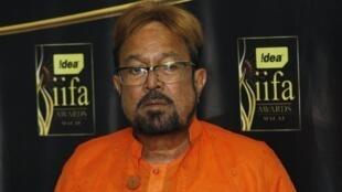 Rajesh Khanna, ici en 2009, fut le premier à Bollywood à être nommé «superstar».