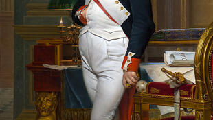 Napoleón por Jacques-Louis David.