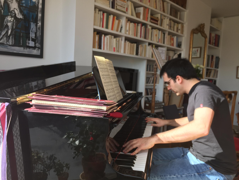 Pianista João Costa Ferreira