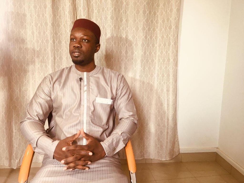 Ousmane Sonko, opposant sénégalais, président du parti PASTEF/ les Patriotes.