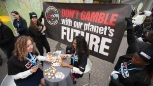 """Campaña de Alianza ACT: """"No apueste con el futuro de nuestro planeta""""."""