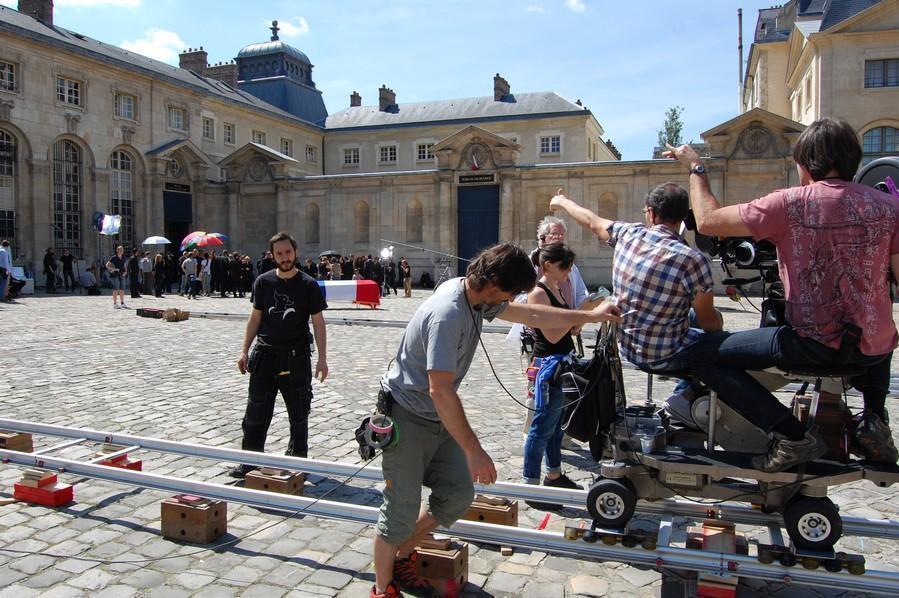 The film Colt 45 was shot at the Ecole du Val de Grâce in Paris