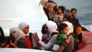 'Yan gudun hijirar Syria a Siracusa