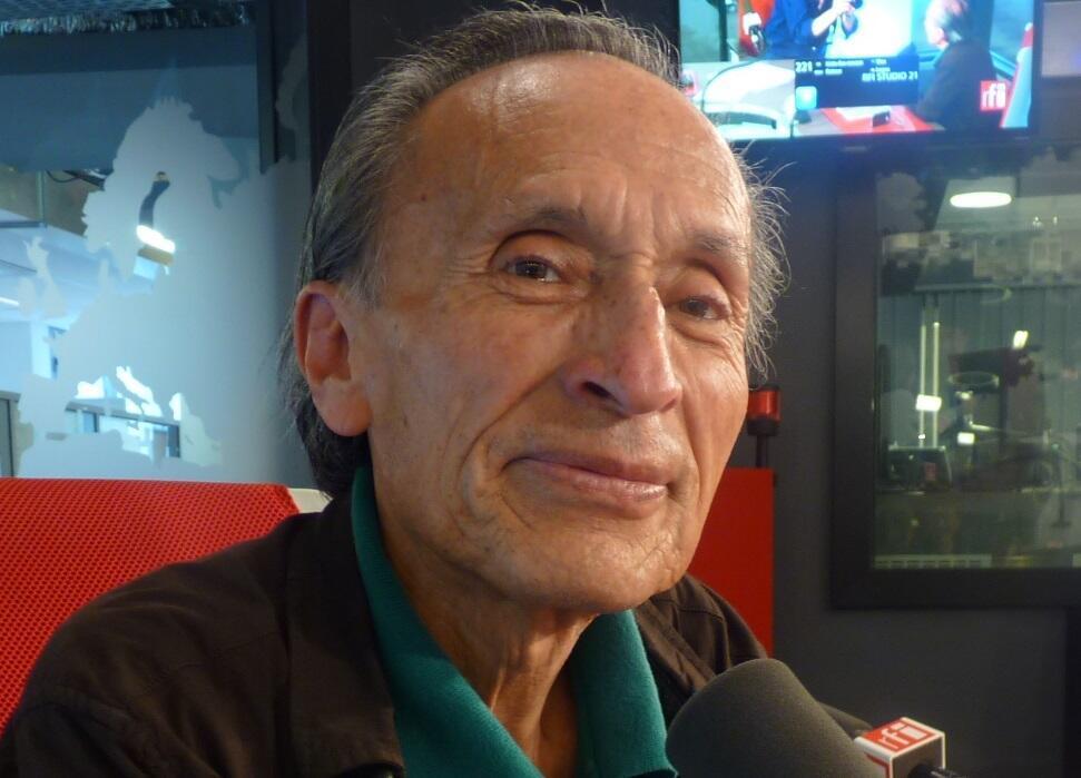 Felipe López Mendoza en los estudios de RFI