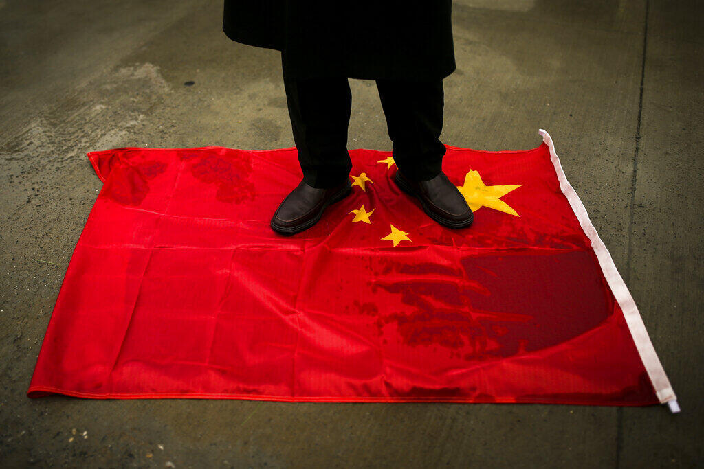 Ouighour - Turquie - Chine - Drapeau