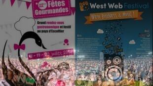 """Vigésima segunda edição do Festival """"Vielles Charrues"""" na Bretanha e da Festa da Gastronomia nos Alpes franceses."""