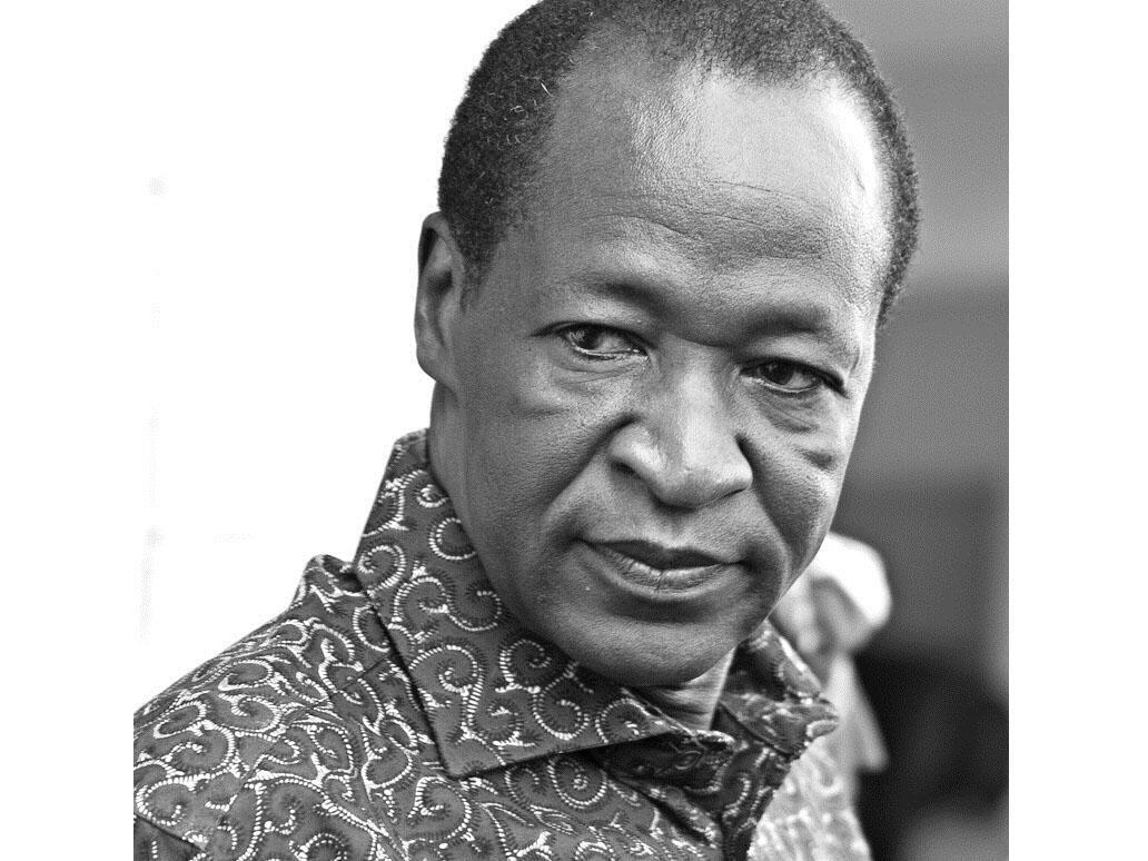 Blaise Compaoré, au pouvoir au Burkina Faso depuis 1987. (Photo: Blaise Compaoré en 2010).