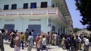 Hôtel Mona, Mogadiscio, lieu de l'attaque armée des shebab, le 24 août 2010