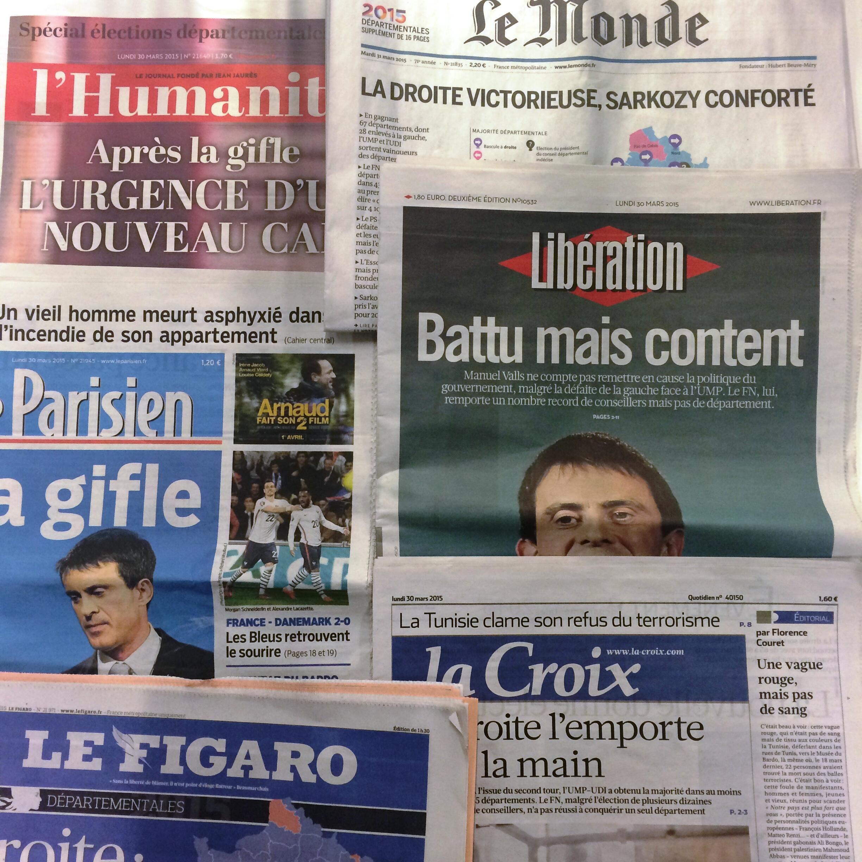 Primeiras páginas jornais 30/04/2015