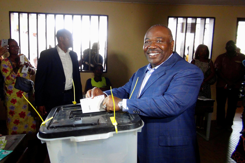 Ali Bongo aquando das presidenciais do passado 27 de Agosto de 2016.
