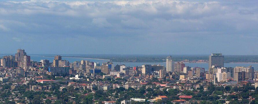 Maputo, la capitale du Mozambique.