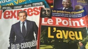 Capas das revistas