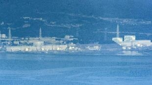 Fukushima power station - From right are the No 1, No 2, No 3 and No 4 reactors