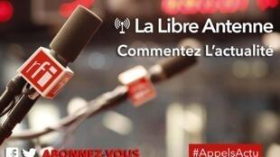 Libre Antenne d'Appels sur l'Actualité.