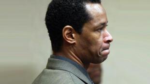 John Allen Muhammad lors de son procès, en Virginie, le 12 novembre 2003.