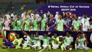 Le Nigeria termine troisième de la CAN 2019.