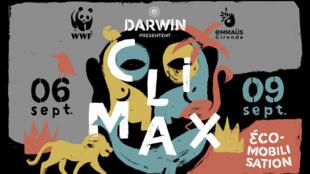 Festival Climax à Bordeaux, du 6 au 9 septembre 2018.