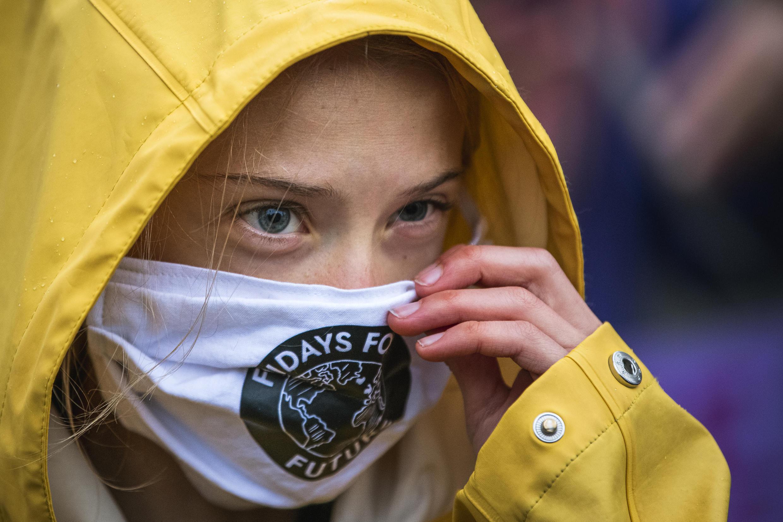 瑞典氣候活動人士格雷塔-頓博譴責世界各國政府首腦無視氣候變化