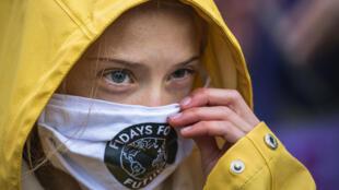 瑞典气候活动人士格雷塔-顿博谴责世界各国政府首脑无视气候变化