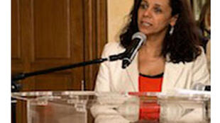 Valdenia Paulino, avocate brésilienne, militante des droits de l'homme.