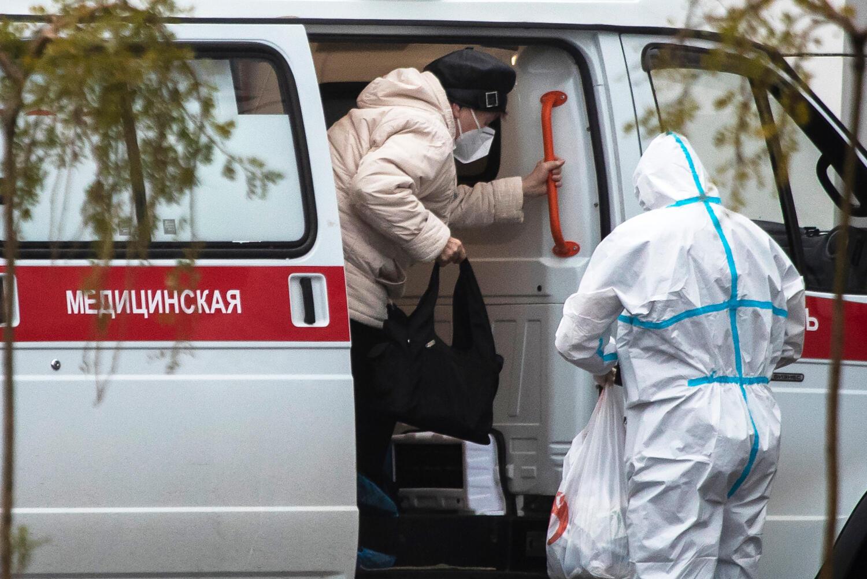 Скорая помощь в Москве 2 ноября 2020.