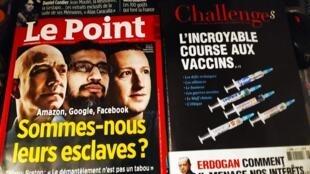 Macron e África e gigantes tecnológicos querem controlo das nossas mentes