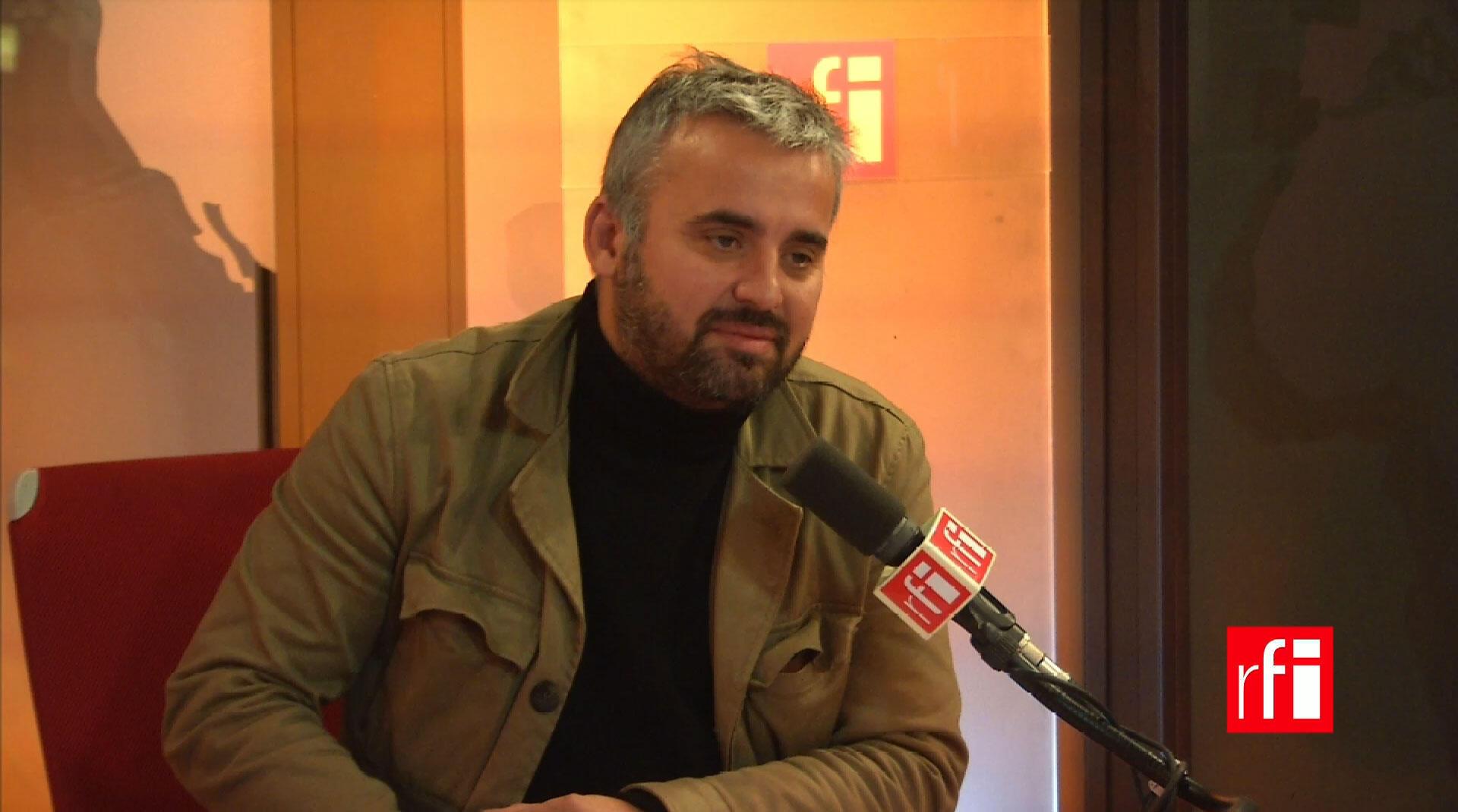 Alexis Corbière, secrétaire national du Front de gauche.
