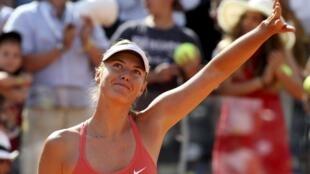 Maria Sharapova won the Italian Open in 2011 and 2012.