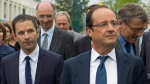 Benoît Hamon e François Hollande: que futuro para o Partido Socialista?