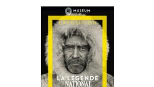 Affiche de l'exposition 125 ans National Geographic.