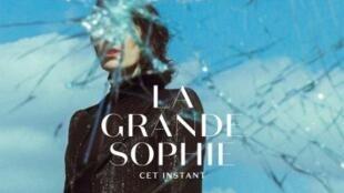 Couverture de la pochette du dernier album de La Grande Sophie «Cet instant». Label Polydor.
