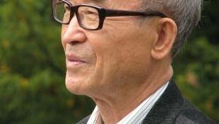 L'écrivain coréen Ko Un.