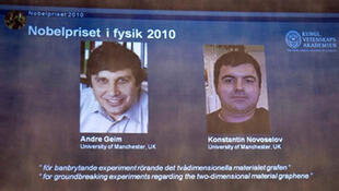 Andre Geim y Konstantin Novoselov.