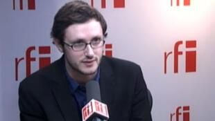 Nicolas Gougain, Porte-parole de la fédération Inter LGBT (Lesbiennes, gais, bisexuels et trans).