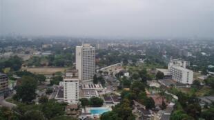 Vue de Kinshasa, capitale de la RDC.