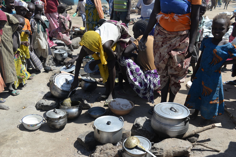 'Yan gudun hijirar Boko Haram na cikin matsalar karancin abinci a Najeriya