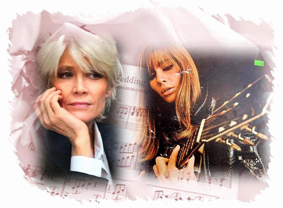 Năm 2011, tên tuổi Francoise Hardy được đưa vào tự điển Pháp (DR)