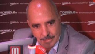 Abdessatar Ben Moussa, président de la ligue tunisienne des droits de l'homme.