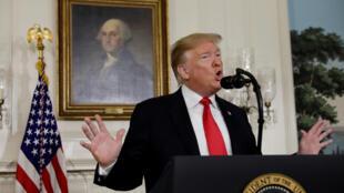 Shugaba Donald Trump na Amurka