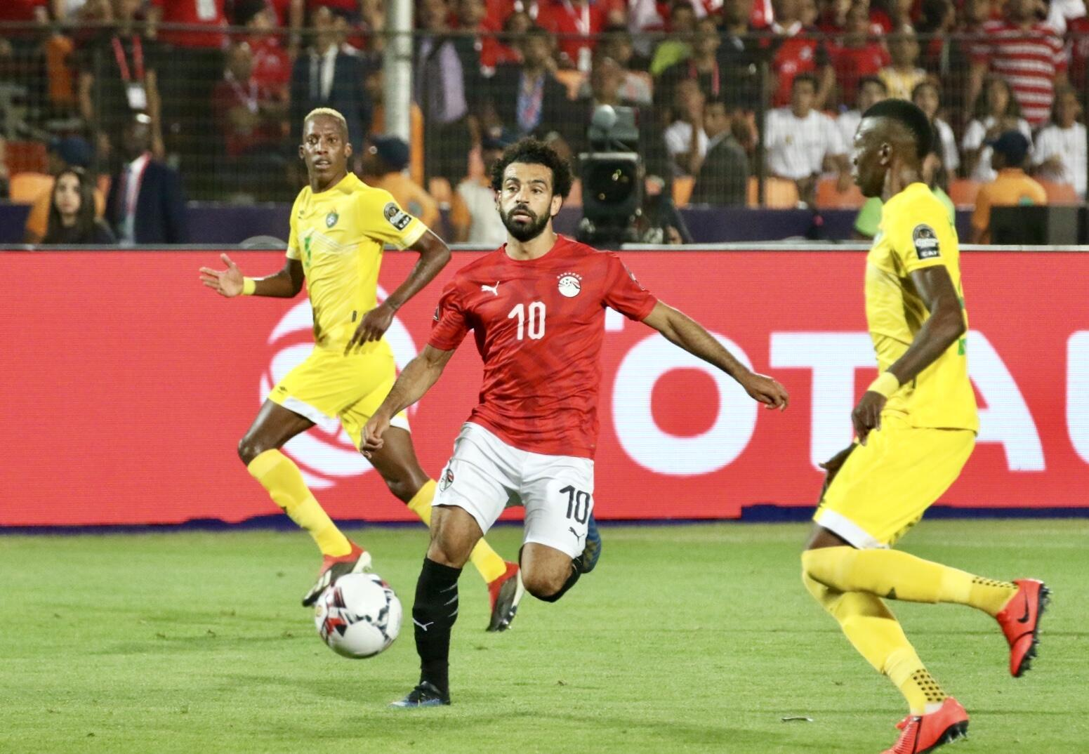 Mohamed Salah a manqué de réalisme face au Zimbabwe