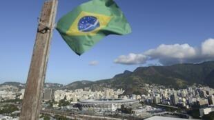 Vista do estádio do Maracanã.