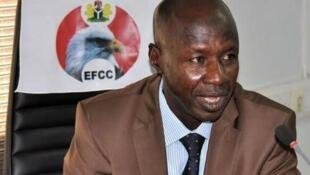 Korarren mukaddashin shugaban hukumar EFCC a Najeriya Ibrahim Magu.