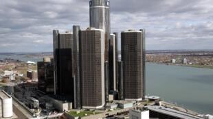 Le siège social de General Motors, à Détroit, le 3 novembre 2009.