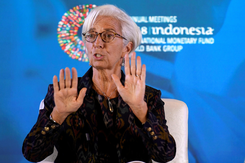 Daraktar IMF, Christine Lagarde