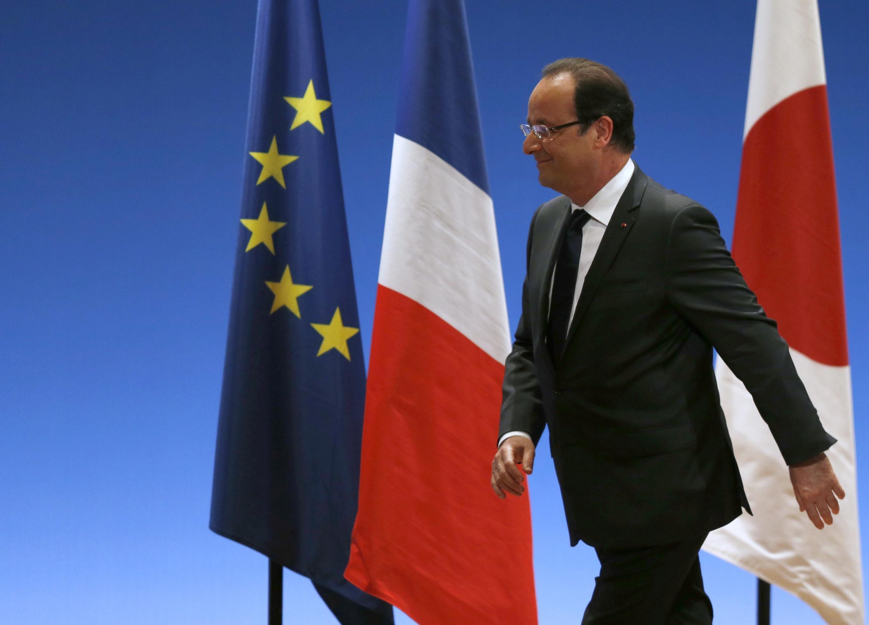 Tổng thống Pháp François Hollande (REUTERS /Issei Kato)