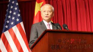 中国驻美大使崔天凯大使资料图片