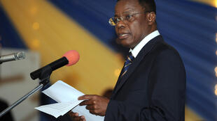 Maurice Kamto, en 2008, alors ministre délégué de la Justice.