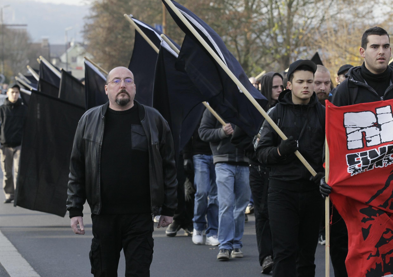 German Neo-Nazis march in 2011